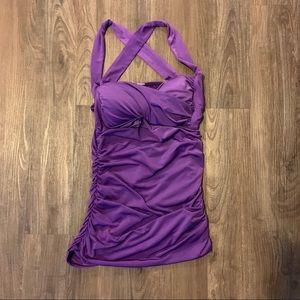 Purple Pinup Top